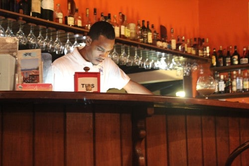 Petite Anse serves a number of local rums including River Antoine Distillery products.