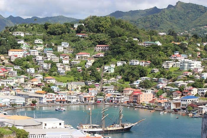 St George Grenada tour