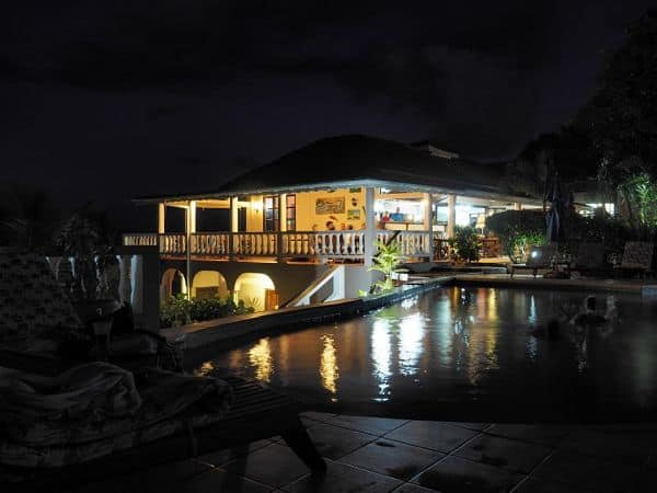 Petite Anse at Night