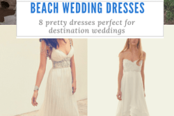 8 of the Prettiest Caribbean Beach Wedding Dresses
