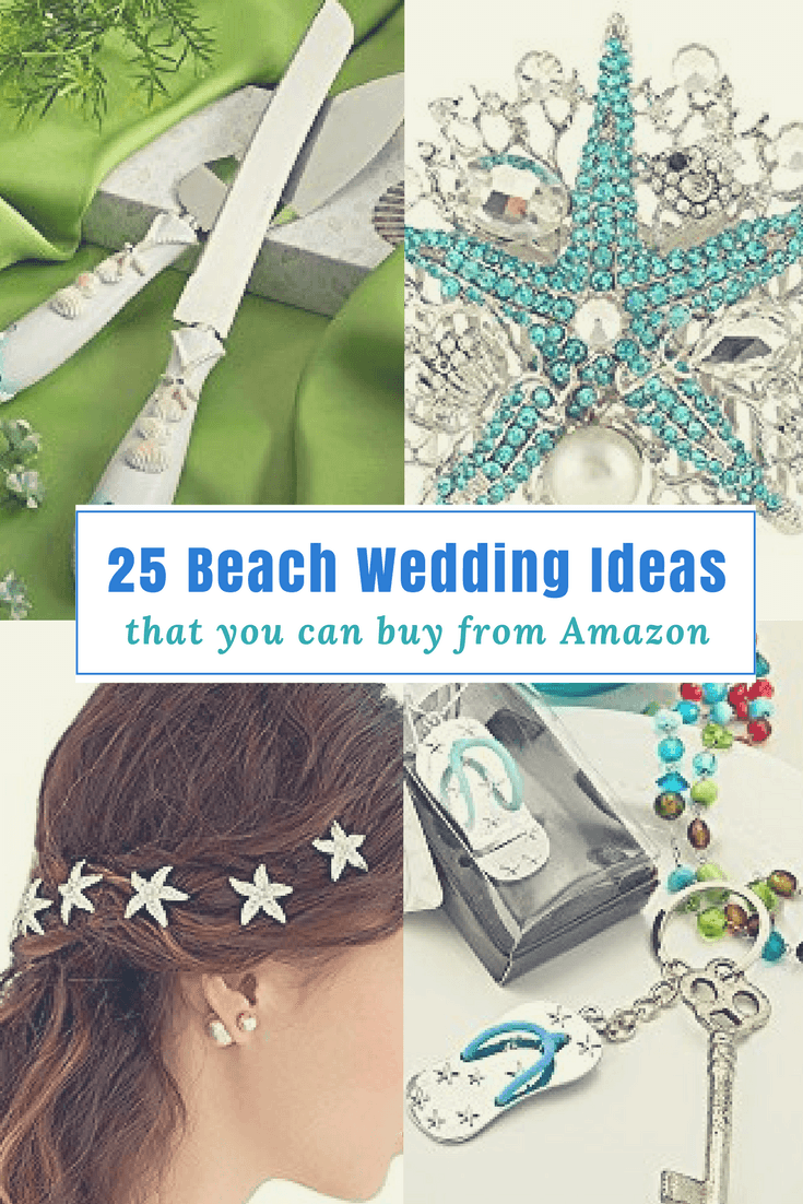 25 fun beach wedding ideas from amazon for your special for Amazon wedding decorations