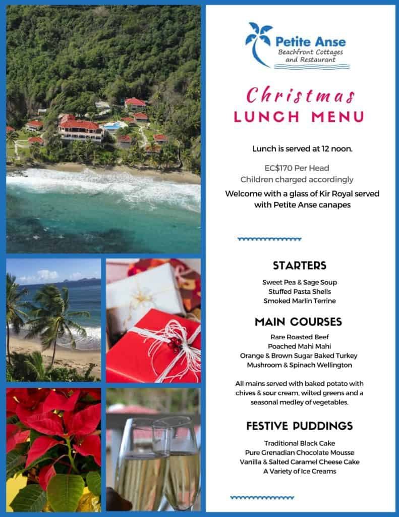 Christmas Lunch Grenada 2019